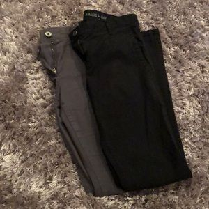 Bundle of Two Gap Super Skinny Khakis